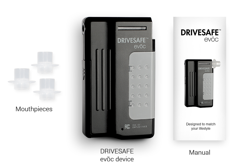 DRIVESAFE evoc: What's in the box
