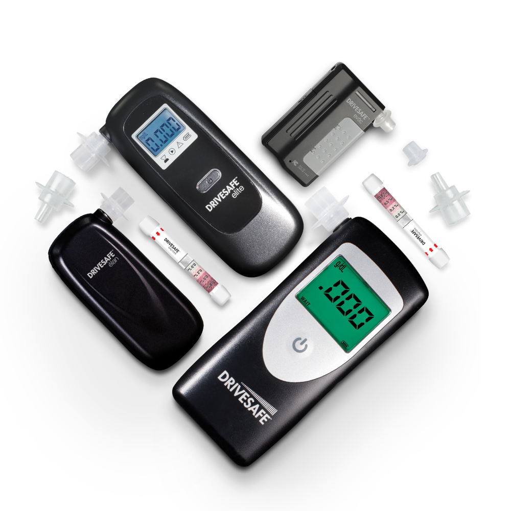 Our breathalyzers save lives