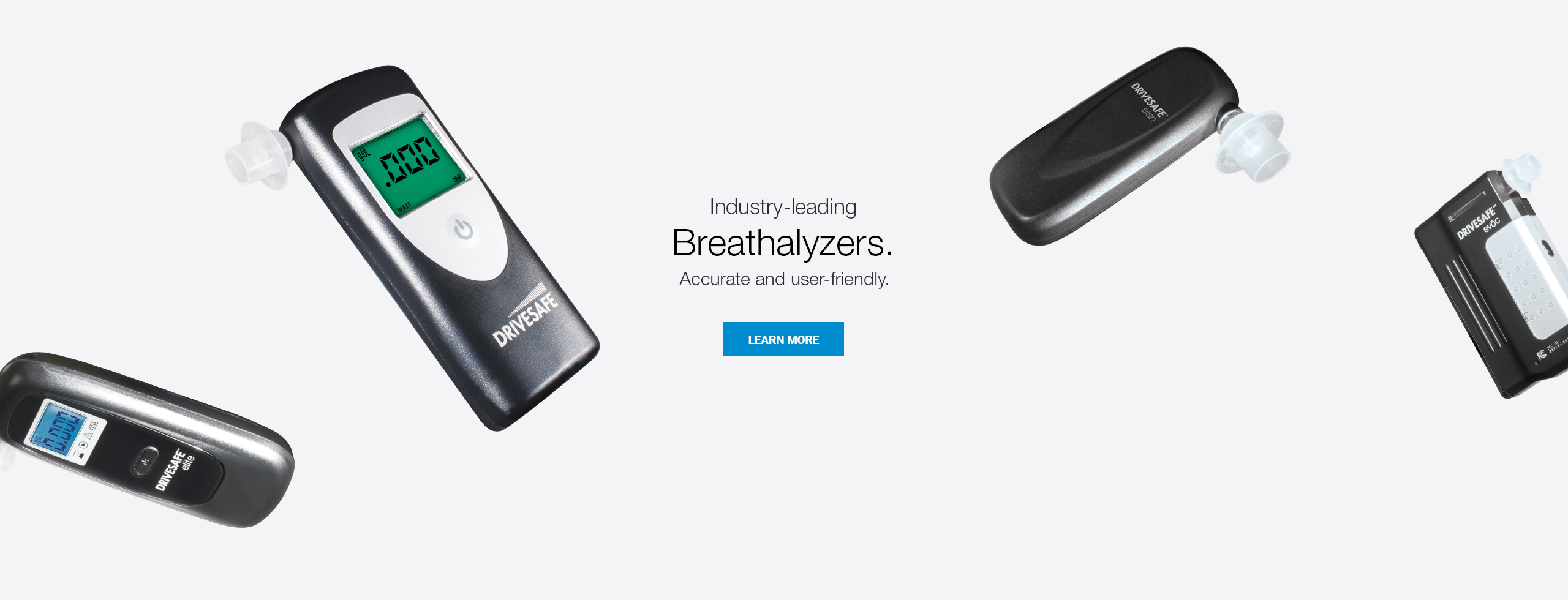 Industry-leading breathalyzers. Accurate. User-friendly.